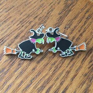 Jewelry - Halloween Witch Earrings